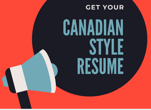 canadian resume guidance